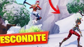 PLAYING HIDE WITH A CHILD -HACKERMD en mode créatif FORTNITE