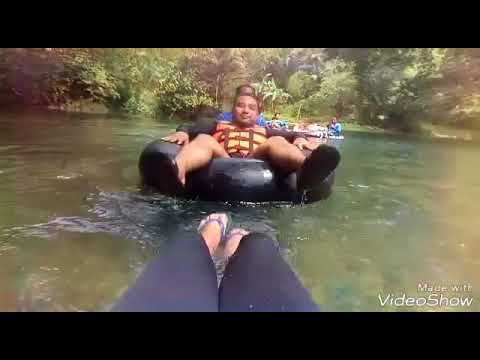 "Water Tubing in Bugang River ""Antique Phil."