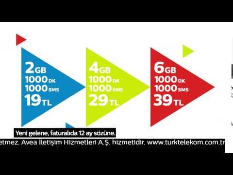 Bol internetli cep tarifeleri T.Telekom