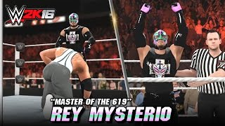 WWE 2K16 Rey Mysterio Entrance, Signature & Finisher (CC)