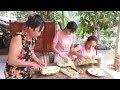 Mít Chín Mà Lăn Bột Chiên Giòn ăn Như Thế Nào Nhỉ - Em Gái Quê - Bến Tre