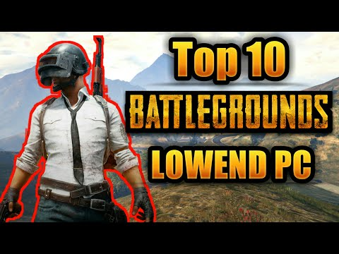 Top 10 Games Like PUBG and Fortnite For Low End PC | New Low Spec Battle Royale Game |