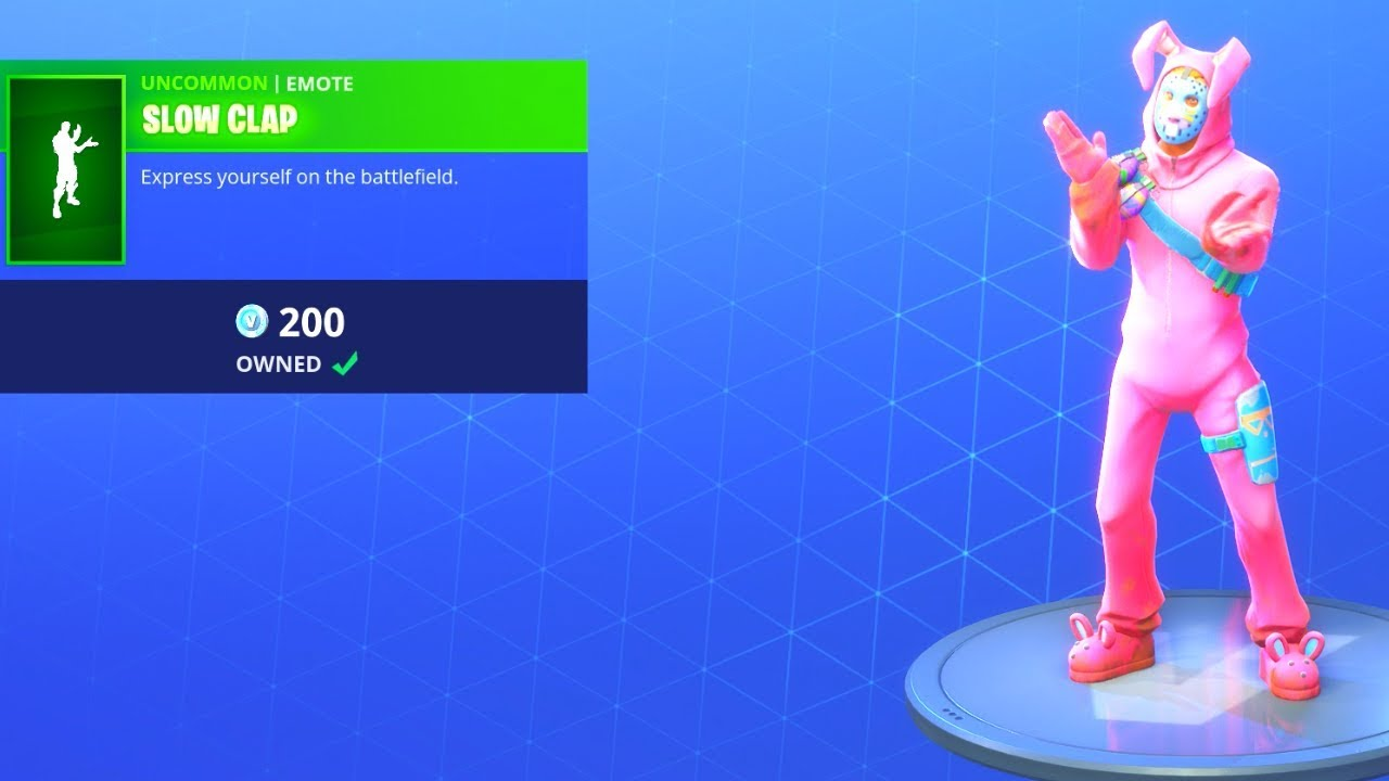 New Item Shop Update 7 2 Slow Clap Emote Is Back Fortnite Battle Royale Youtube All cosmetics, item shop and more. new item shop update 7 2 slow clap emote is back fortnite battle royale