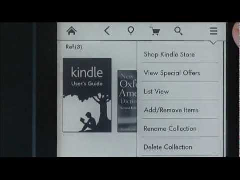 Tech Tip Kindle