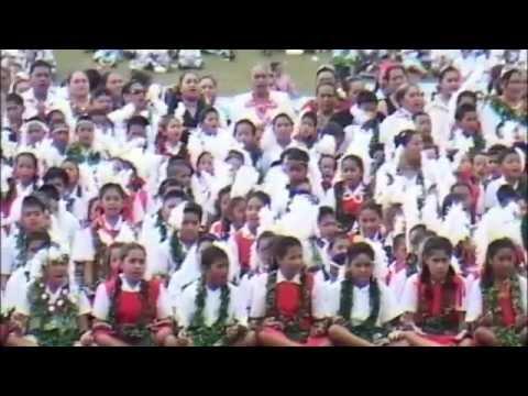 Tonga Coronation 2008 - Primary School Ma'ulu'ulu