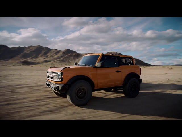 2021 Ford Bronco - Two Door and Four Door Running