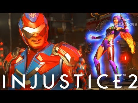 "The Amazing GIANT RAY Epic Atom Ability! - Injustice 2 ""Atom"" Gameplay"