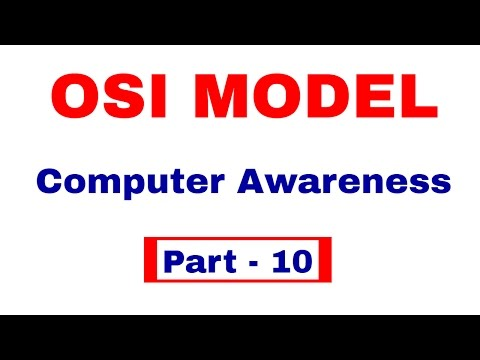 OSI MODEL in Computer Networks | Computer Awareness [In Hindi] Part  10