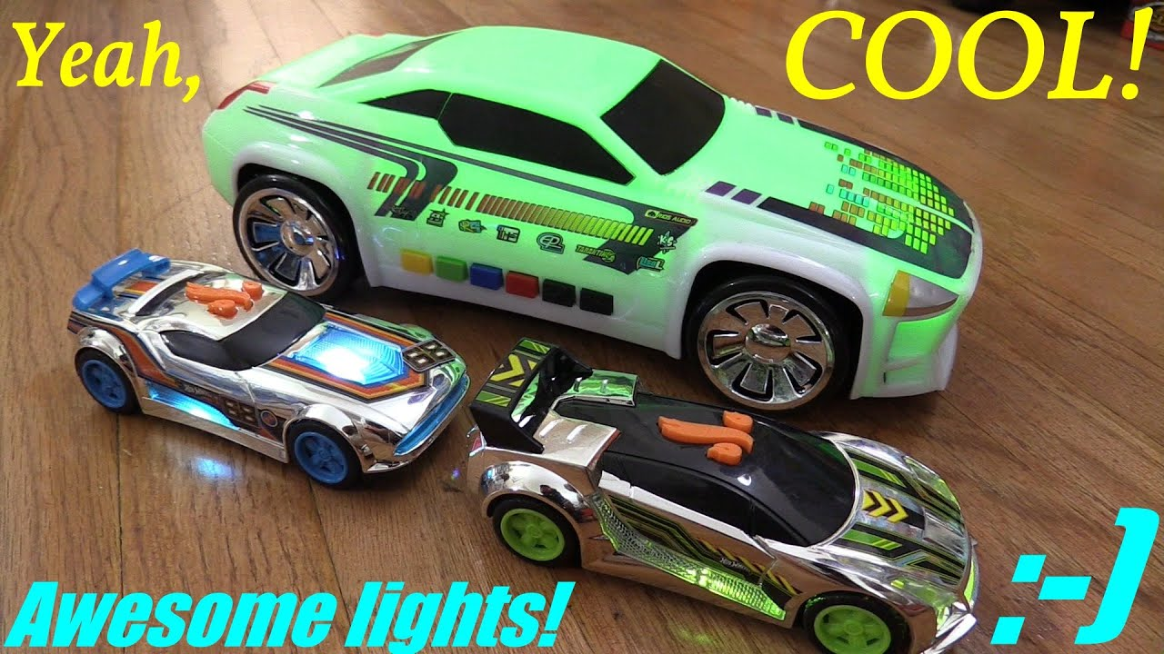 Cool Toy Cars for Kids: Hot Wheels and Fast Lane Color Changing ...