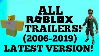 [VERSIÓN más reciente] ¡TODOS LOS TRAILERS ROBLOX! (2006-2019)
