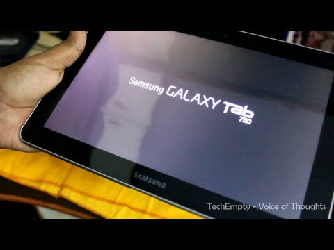 How To Update Galaxy Tab 750 P7500 With Official ICS 4.0.4