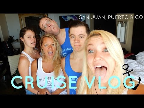 Cruise Vlog #1 | SAN JUAN AND BOARDING THE SHIP