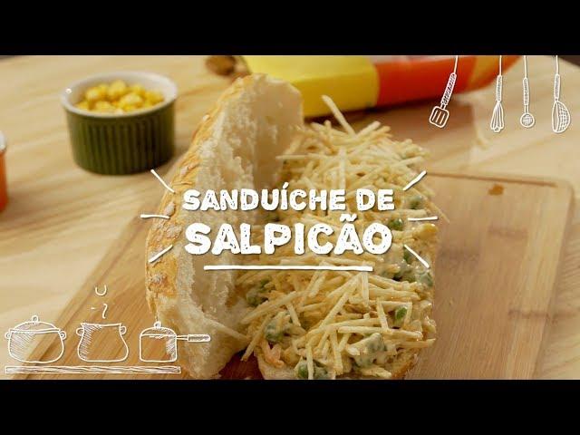 Sanduíche de Salpicão - Sabor com Carinho (Tijuca Alimentos)
