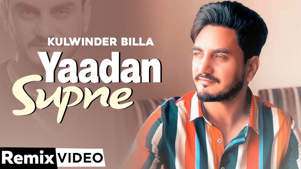 Yaadan Supne (Remix) | Kulwinder Billa | Dr Zeus | Hit Punjabi Song 2020 | Speed Records