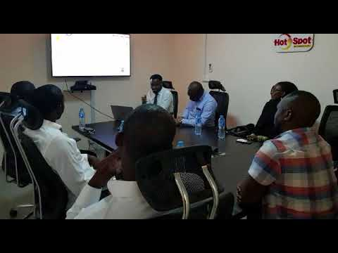 Shell Foundation Visits Hotspot Network Limited Head office, Abuja