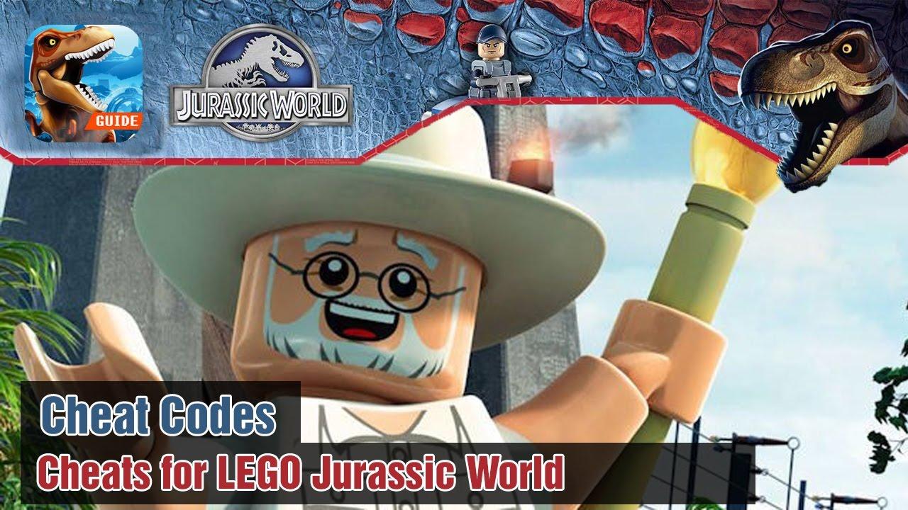 cheats for lego jurassic world  cheats code  youtube
