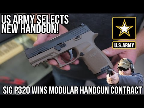 MHS Contract Awarded To The SIG Sauer P320 / M17 (Filmed at Ventura Munitions HQ)