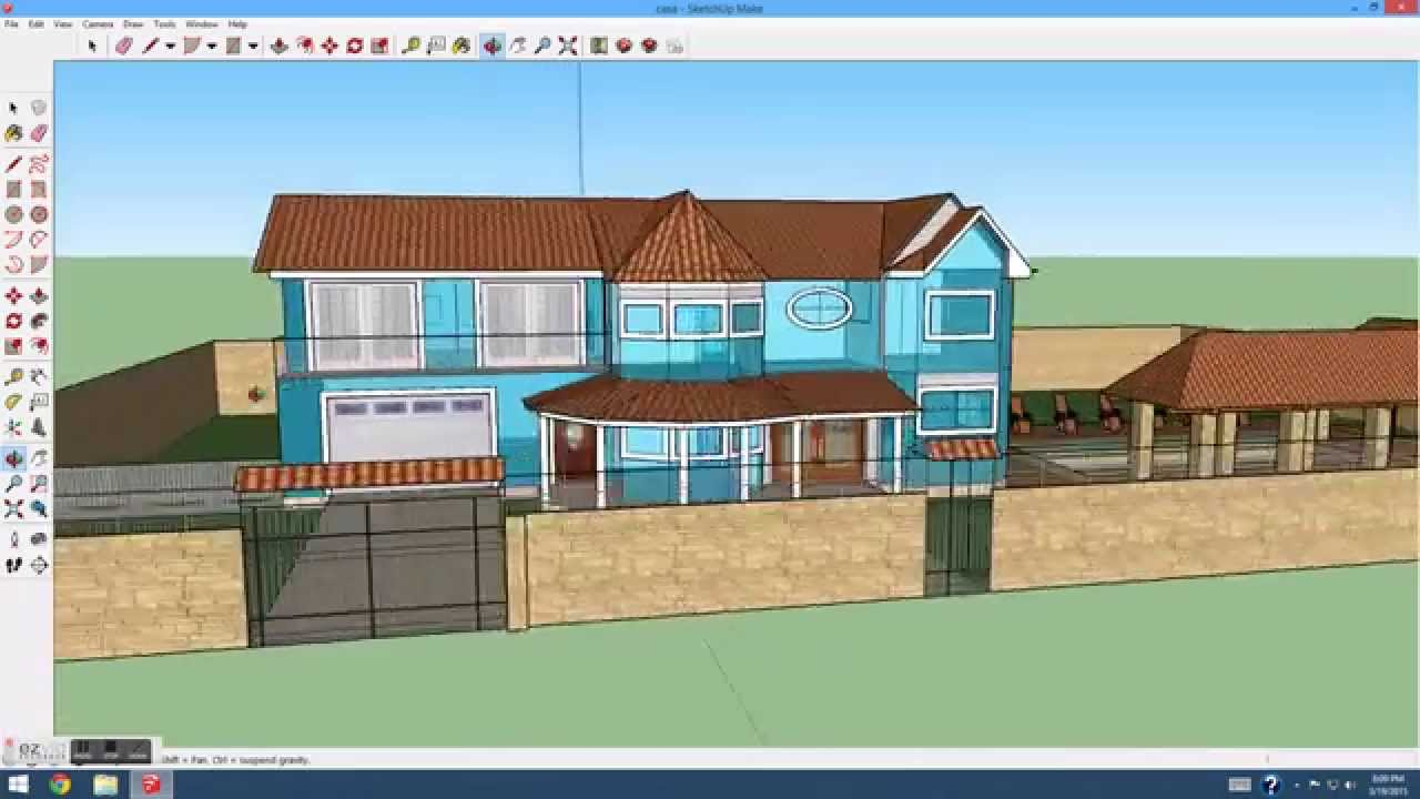 how to use sketchup pro 2015. - YouTube