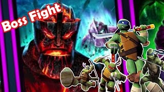 Teenage Mutant Ninja Turtles: Legends- Chapter 5 (Final Boss Fight) House Of Kraang