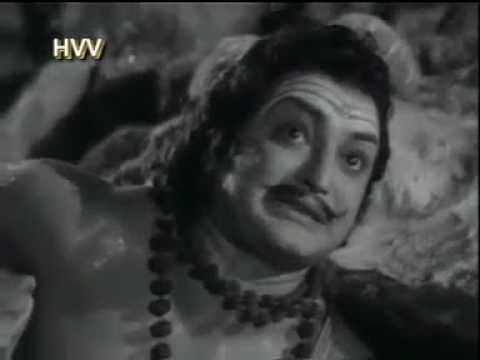 Download రావణ బ్రహ్మ కైలాసా గిరిని లిఫ్టు చేస్తుంది(Seetarama Kalyanam movie 1961)