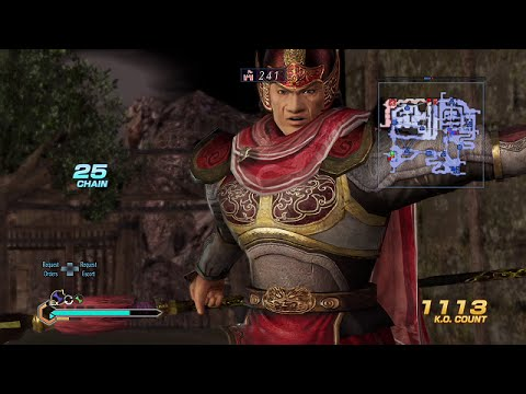 Dynasty Warriors 8 Empires - YTR - Wang Lang kingdom [HD-PS4-1080p-60 fps]