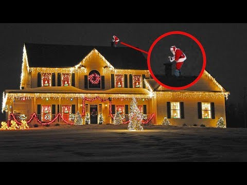 5 Strange Sightings of Santa Claus Caught on Camera & Spotte