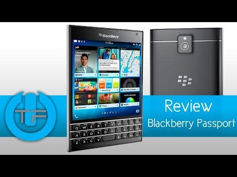 BlackBerry Passport Review Vale la pena el cambio