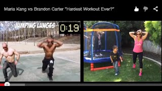 Maria Kang vs Brandon Carter