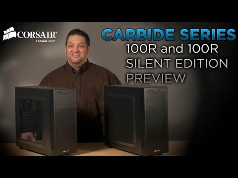 reputable site 7ac2d 19d97 PM Preview: Corsair Carbide Series 100R and 100R Silent Edition PC ...
