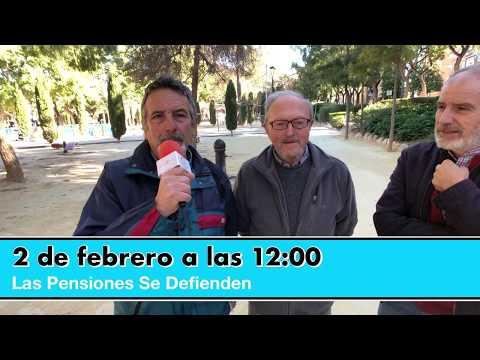 ¿Por qué defender las pensiones en las calles el día 2 de febrero?