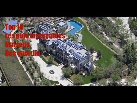 Top 10 les plus incroybales maisons de sportifs (Volume 1)