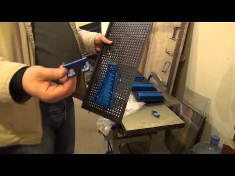 видео: Полка для инструмента + струбцины