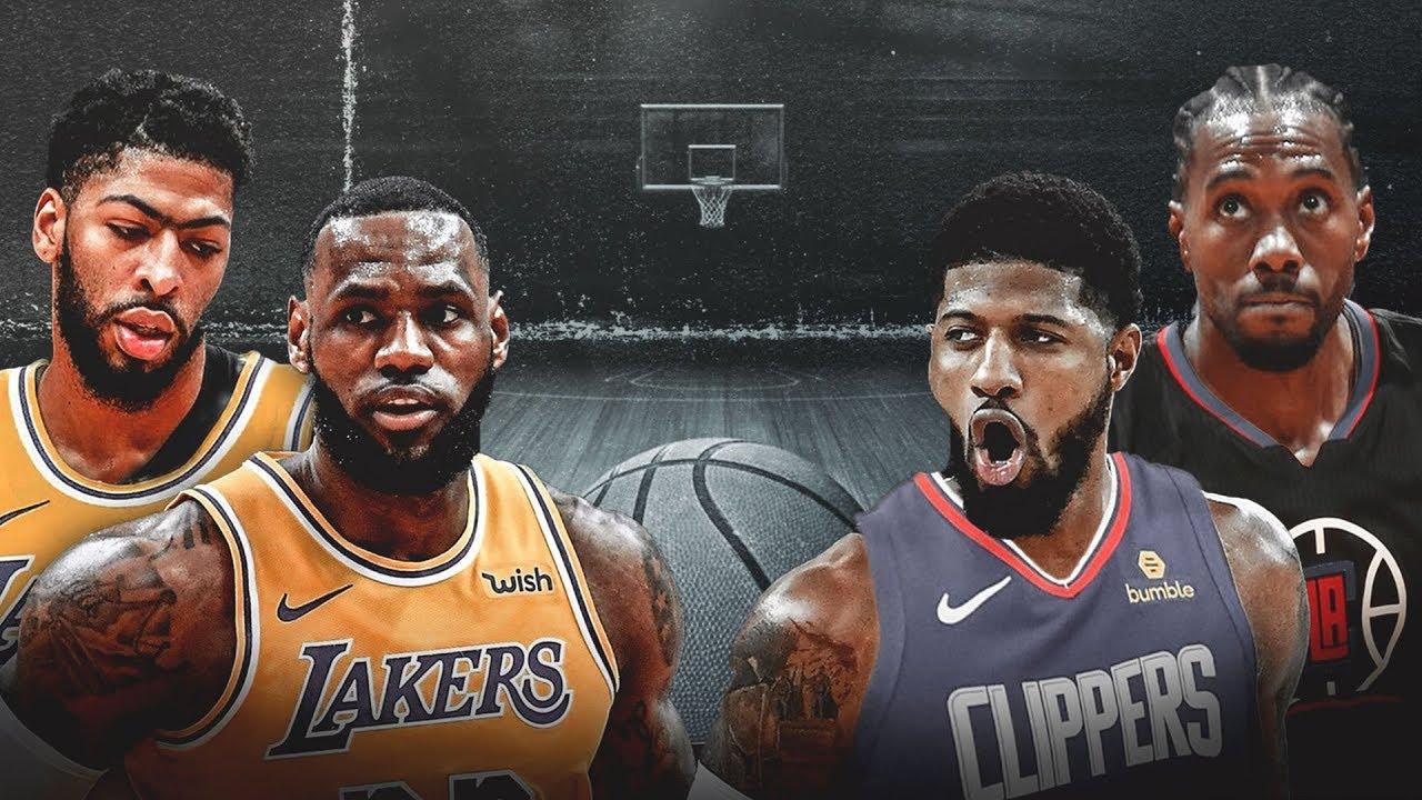 Opening Night Games! Lakers vs Clippers & Raptors vs ...
