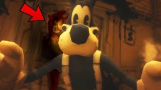 ALICE ANGEL WANTS BORIS! Bendy And The Ink Machine Chapter 3 Ending