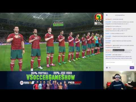 Maroc - Togo [PES 2017*] | CAN 2017 (Groupe C - 2ème Journée) | CPU Vs. CPU