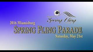 2016 Miamisburg Spring Fling Parade