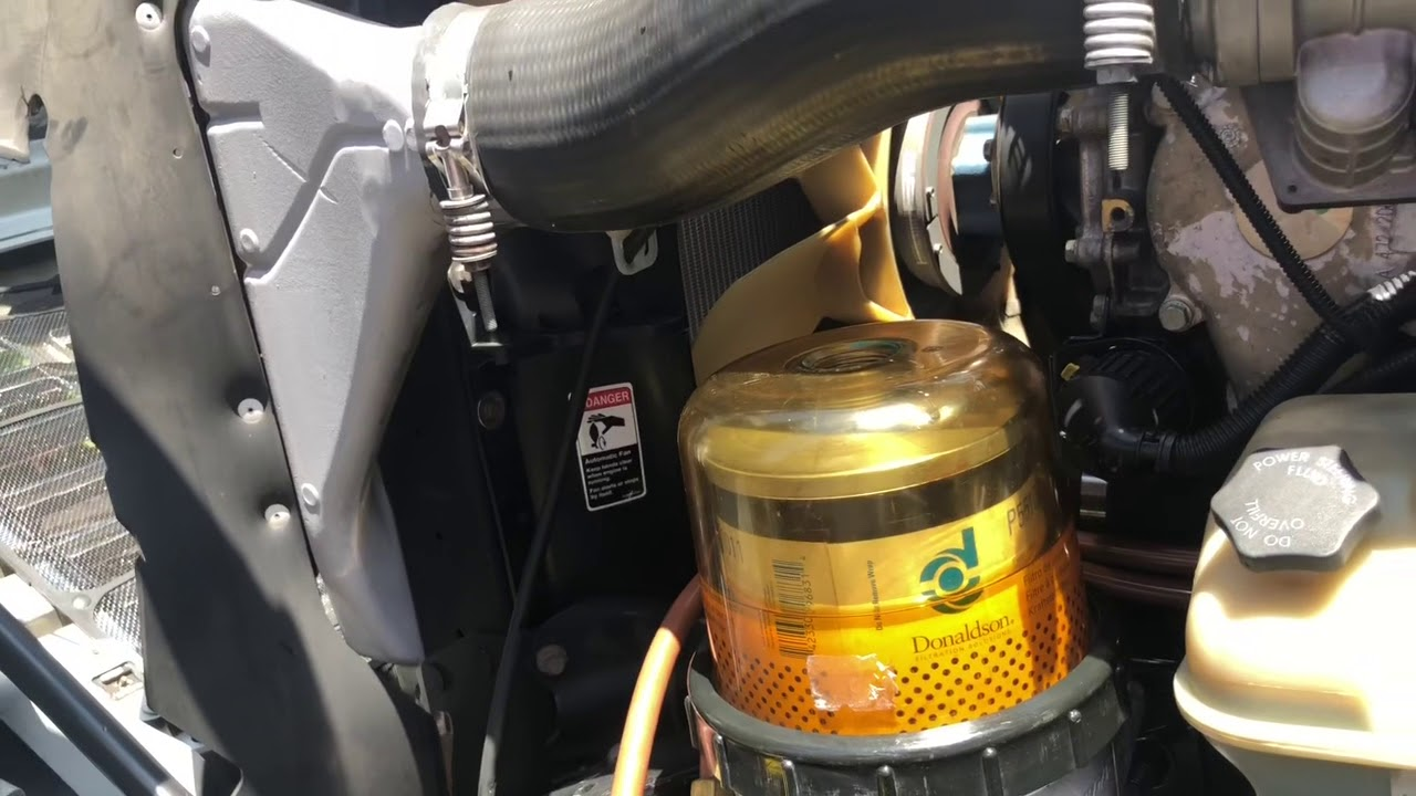 Freightliner Fuel Filter Replacement Youtube Truck Filters