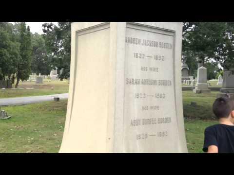 Lizzie Borden Family Plot/Cemetary Fall River Massachusetts