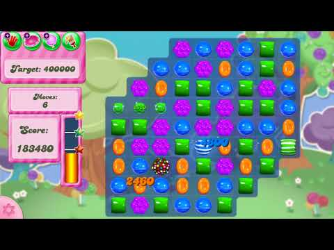 Candy Crush Saga Level 2980 NO BOOSTERS