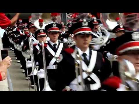 Ohio State Marching Band Ramp Entrance Game 2 Buckeyes VS CFU 2012
