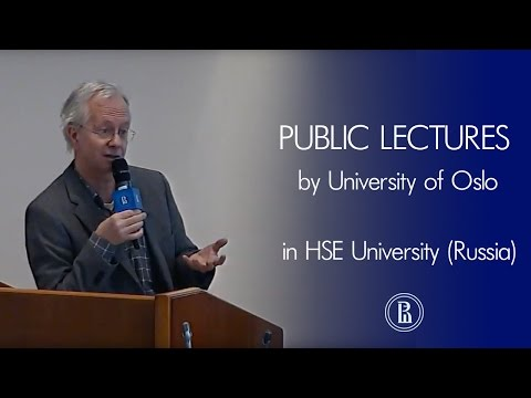 Public Lectures by University Of Oslo (Norway). Part 1