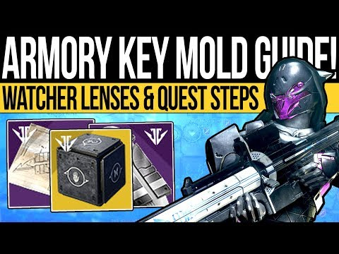 Destiny 2 | KEY MOLD & UNDERBELLY GUIDE! How to Get Watcher Lenses Solo, Armory Key & Mysterious Box