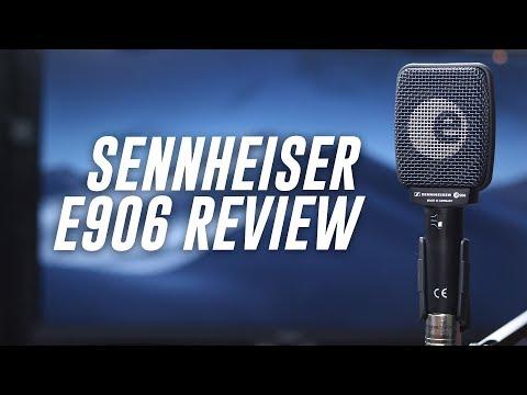 Sennheiser E906 Supercardioid Mic Review / Test