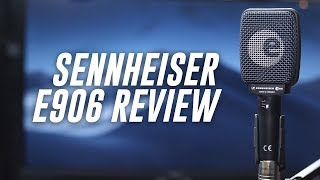 Sennheiser e906 Supercardioid Mic Review / Test