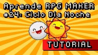 Aprende RPG MAKER #24: Ciclo día/noche