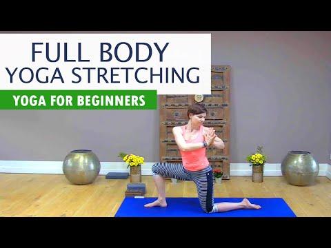 beginner yoga  full body yoga stretching for flexibility