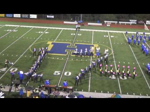 Hampton High School Marching Band Class of 2017-- Senior Night- Songs from Billy Joel