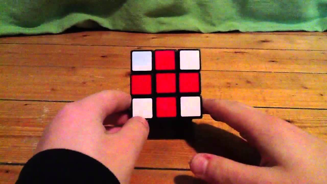 comment faire des drapeaux avec un rubik cube youtube. Black Bedroom Furniture Sets. Home Design Ideas
