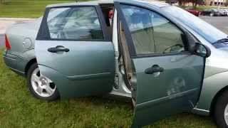 2003 Cheap Used Ford Focus Sedan Vehicle - Low Price Car