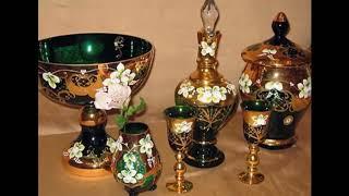 Стеклянная посуда Богемия (Bohemia) Чехия